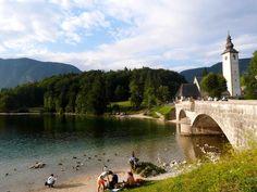 The largest permanent lake in Slovenia, Lake Bohinj is somewhat neglected in comparison to its famous sibling Lake Bled. Visit Slovenia, Bohinj, Lake Bled, Da Nang, Luang Prabang, Ubud, Hanoi, Day Trip, Nice View