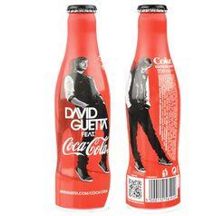 Botella de Coca-Cola de David Guetta