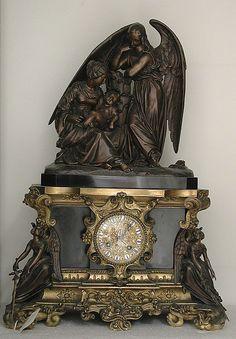 Antique French Mantel Clock.