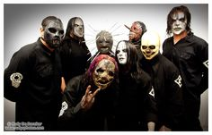 Slipknot - Like some of their songs, but seeing them in concert with the masks was a tad bit too creepy for me lol