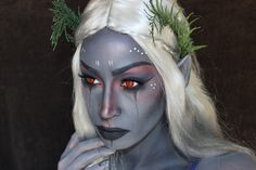 Dark Elf #Makeup by Nickeilgenesis