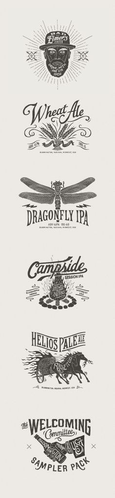 Upland Brewing Co. on Behance