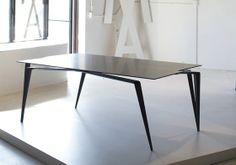 """""""Panther"""" Carbon Fiber, Kevlar, Titanium Dining Table"""