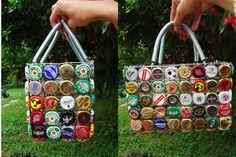 bottle cap hand bag - Google Search