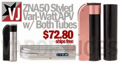 Vapor Joes - Daily Vaping Deals: OH SNAP: THE CH-ZNA50 MODS ARE LIVE - $72.80