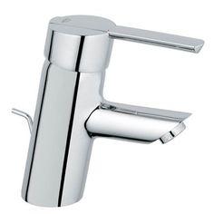 GROHE 23171000 Feel Starlight Chrome 1-Handle Single Hole Bathroom Sink Faucet (Drain Included) $144 (HST included)