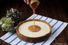 Cream Brulee Cheesecake, Tiramisu Cheesecake, Caramel Cheesecake, Cheesecake Recipes, Torte Cake, Sweet Cakes, No Bake Cake, Sweet Recipes, A Table