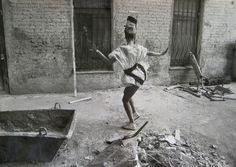 SERGEI BORISOV (*1947)  SPRING DANCE, 1988 VERSO: SIGNED, TITLED AND DATED 1988 VINTAGE GELATIN-SILVER PRINT ON KODAK PAPER 30,5 X 40,5 CM  LITERATURE: SERGEI BORISOV PHOTOGRAPHIES, EDITION LEV TOLSTOI PRINTING, TULA, RUSSIA, 1993