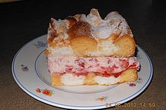 Wiener Kardinalschnitte Austrian Recipes, Austrian Food, Gram Of Sugar, Vanilla Sugar, Sweet And Spicy, No Bake Cake, Cooking Recipes, Sweets, Breakfast