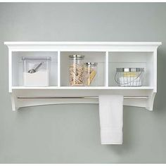wall mounted bathroom storage