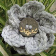 One Dozen Easy Peasy Free Crochet Flower Patterns