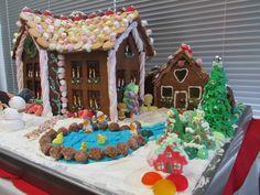 Gingerbread Farm Scene - Christmas
