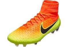 Nike Magista Obra FG - Total Crimson & Total Orange | SoccerMaster.com