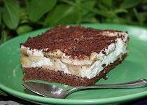 Vynikající banánové řezy Creme Dessert, Tiramisu, Ethnic Recipes, Food, Puddings, Cacao Powder, Chocolate, Sheet Pan, Bakken