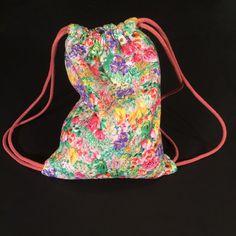 One of a kind drawstring backpack by mamalugashi on Etsy