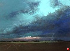The Lowering Sky by Bethany Fields Pastel ~ 9 x 12