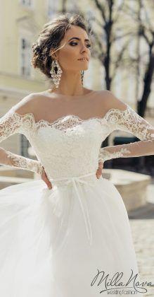 milla nova 2016 bridal wedding dresses barcelona 1