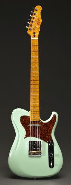 Scott Walker guitars, Jimson Surf Green