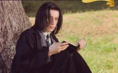 Severus Snape whilst studying at Hogwarts - In 1971 he began his first term at Hogwarts School of Witchcraft and Wizardry where he was sorted into Slytherin. This put him in the same year as his true love, Lily Evans. Severus became the immediate enemy of James Potter and Sirius Black and was a frequent victim of their bullying. Snape developed a passion for the Dark Arts at a young age, and had followed the pure-blood supremacists in Slytherin House - Harry Potter Wiki