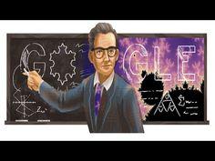 Benoît Mandelbrot, mathématicien français, Google Doodle célèbre , père de la géométrie fractale - YouTube Doodle Google, Fractal Geometry, Benoit, France, Fractals, Father, Pai, Dads, French