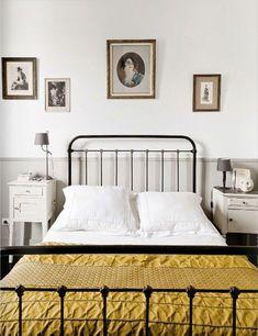 cama de hierro honestly frente
