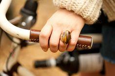 Leather Bike Accessories by Walnut Studiolo