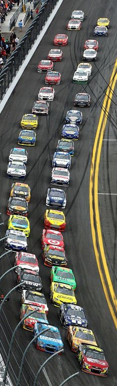 Would love to take my Dad to see the Daytona 500. 2013 | start of Daytona 500