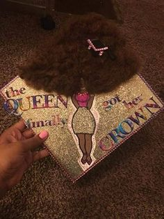 Natural Hair Graduation Cap