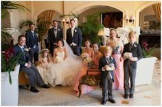 Liz and David's Wedding at the St. Regis Monarch Beach   Details Details - Wedding and Event Planning wedding party, bride and groom, timeless, sophisticated elegance