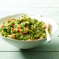 Asparagus Tabbouleh // Great Grain Salads: http://www.foodandwine.com/slideshows/salads-with-grains #foodandwine