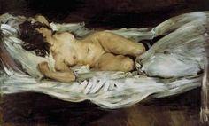 [Lovis Corinth - Reclining Nude, 1895]