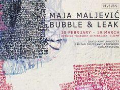 Maja Maljevic, Bubble and Leak   DAVID KRUT PROJECTS