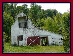 White barn... Southern Indiana
