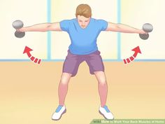 How to Work Your Back Muscles at Home