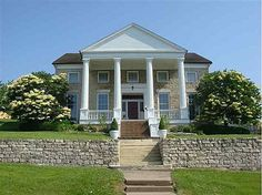 1856 – $229,000 – MLS#4135026 224 E 6th St, Davenport, IA The original E.S. Barrows mansion has been remodeled down to the studs to perfection, while still maintaining the Greek Revival architecture featuring 22 inch stone walls and 20 ft. Doric columns.Large rooms throughout with 14 ft. ceilings. Huge walk-in closets, floor to ceiling windows, winding walnut staircase and unbelievably low utility bills.""