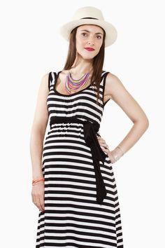 Increíbles vestidos casuales para embarazadas 2015