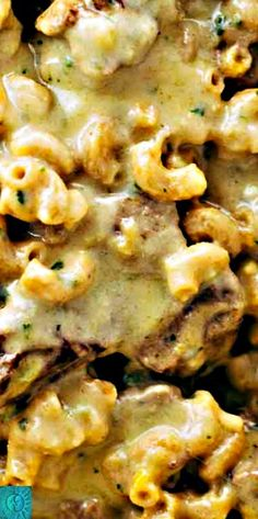 Steak and Cheddar Mac and Cheese