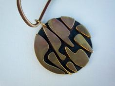 Art Smith Modernist Pendant Necklace on Etsy