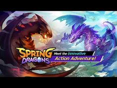 (*** http://BubbleCraze.org - New Android/iPhone game is wickedly addicting! ***)  Spring Dragons android game first look gameplay español