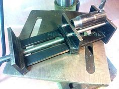 HITE CUSTOM (Mini vice for drill stand & as a third arm)