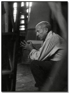 Brassai: Picasso in his Studio Rue des Grands-Augustins, Paris, 1948