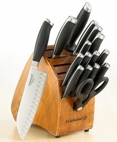 Another great deal and addition to my kitchen....Calphalon Contemporary 17-Piece Cutlery Set