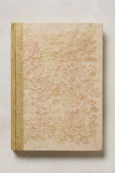 Gold foil journal #AnthroFave