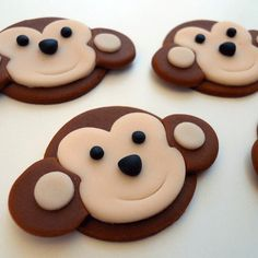 make these out of marshmallow fondant, for cupcakes! practice