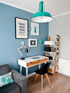 Salón con despacho