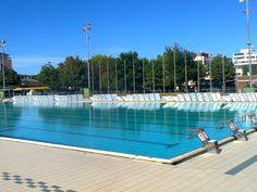 Piscina olimpionica. Stadio del nuoto