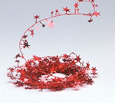 Metallic star garland in lots of colors