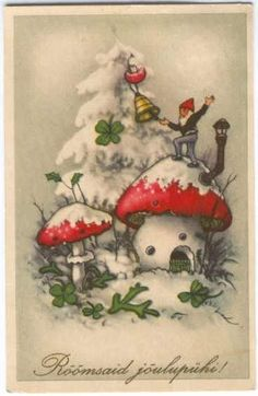 Waldorf Winter Festivals & Holidays inspiration gnome art