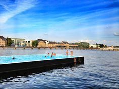 Swimming at the Most Unusual Pool in Europe