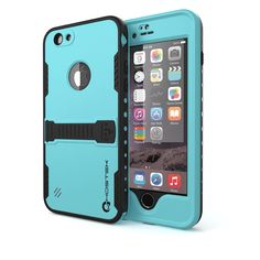 iphone-6-waterproof-case-ghostek-atomic-bright-cyan-apple-iphone-6-waterproof-case-w-attached-screen-protector-lifetime-warranty-apple-iphone-6-slim-fitted-waterproof-shock-proof-dust-proof-dirt-proof-snow-proof-hard-shell-cover-case-ghocas175